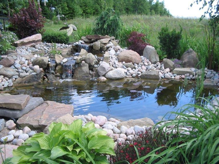 Costruire un laghetto piante acquatiche come costruire for Laghetto plastica