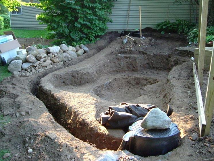 Costruire un laghetto piante acquatiche come costruire for Laghetti per tartarughe prezzo