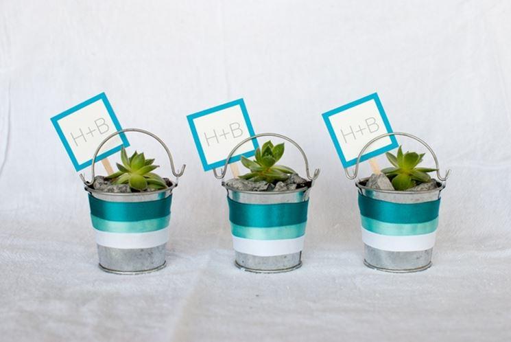 Famoso Bomboniere piante grasse - Piante Grasse - Fare bomboniere con le  LY66