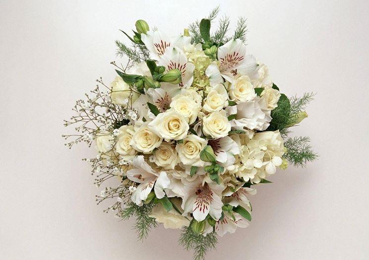 Alstroemeria di Louis in bouquet