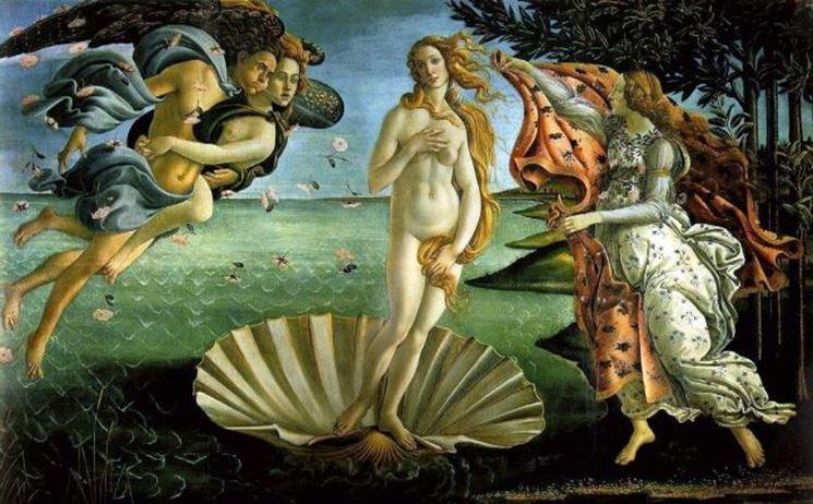 la Venere di Botticelli, quadro