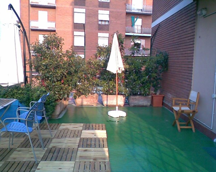 Stunning siepe adatta per terrazzo with giardini sui terrazzi for Giardini sui terrazzi