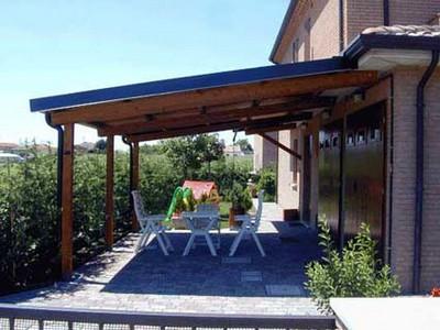 Il meglio di potere tettoie in legno immagini - Pergole da giardino ...
