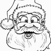 Colorare Babbo Natale