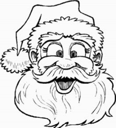 Colorare Babbo Natale Decorazioni Di Natale Come