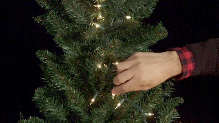 luminarie albero di Natale