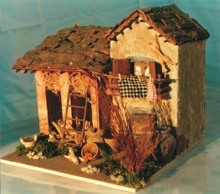 Casette presepe presepe for Tegole del tetto della casetta