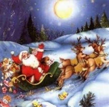 Babbo Natale Con Le Renne Immagini.Renne Di Babbo Natale Regali Di Natale