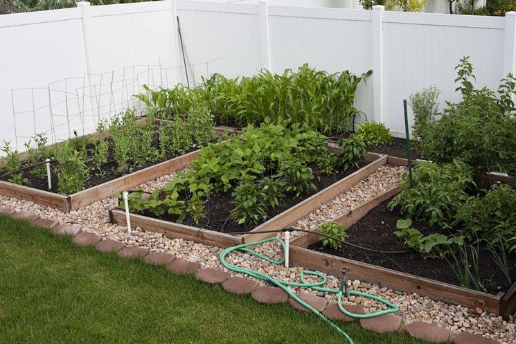 irrigare l'orto