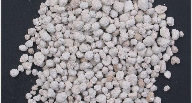 Esempio di concime chimico granulare