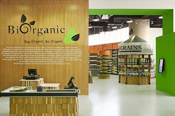 Un negozio biologico in Germania