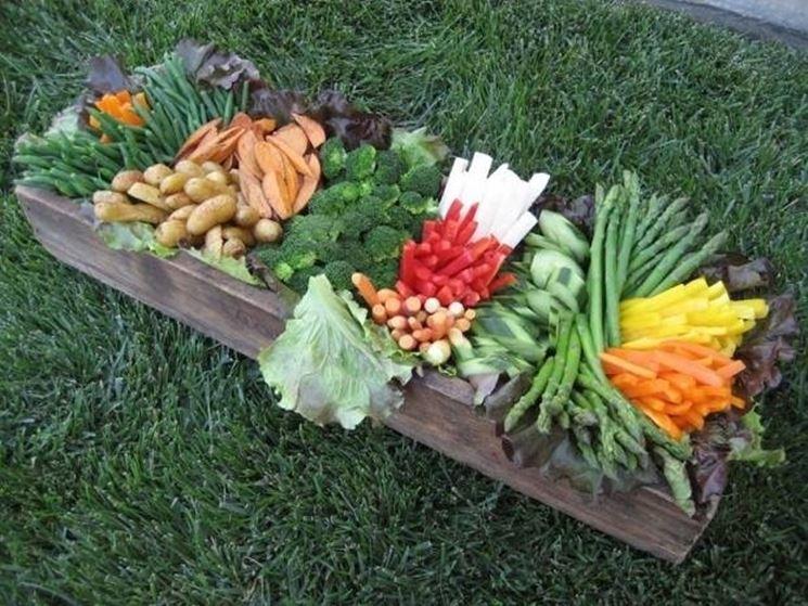 I prodotti di un orto biologico