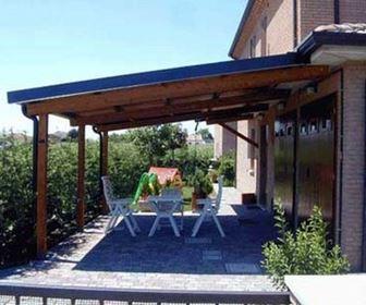pergole e tettoie da giardino