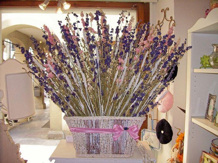 Composizioni di fiori secchi originali