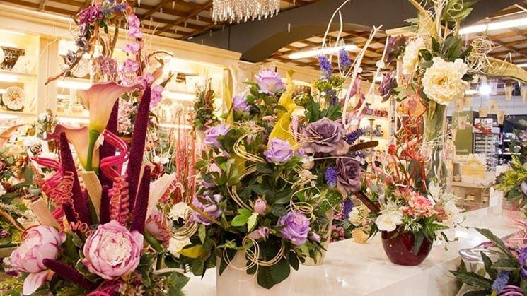 Fiori secchi composizioni fiori secchi composizioni di - Centrotavola natalizi con fiori finti ...