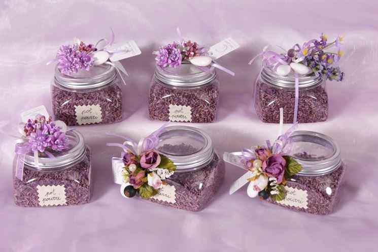 Estremamente Fiori secchi per bomboniere - Fiori secchi - Bomboniere con fiori  LN76