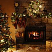 Un tipico albero di Natale