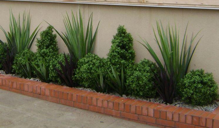 piante finte da esterno piante finte piante