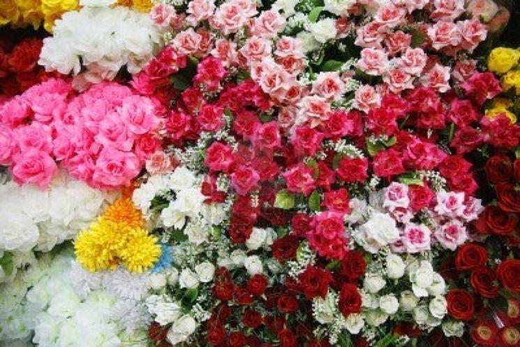 Fantasia di fiori artificiali