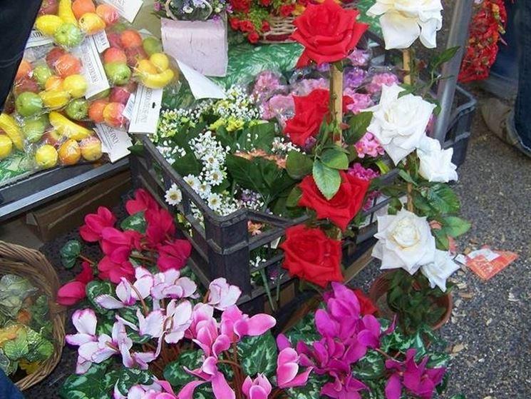 vendita fiori finti