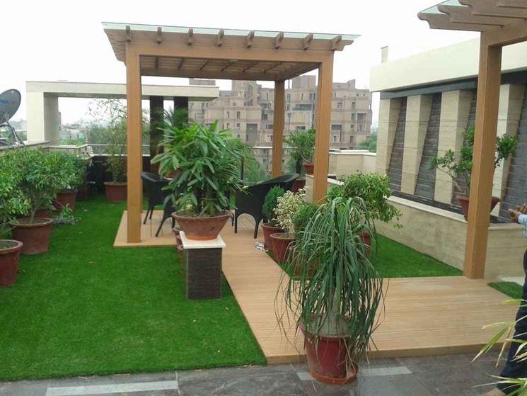 Giardino in terrazzo giardino in terrazzo come for Mobili giardino terrazzo