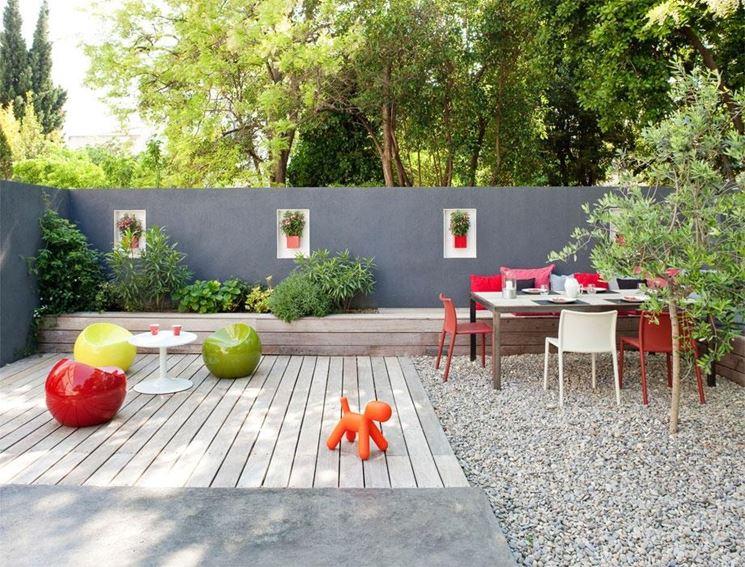 Giardino sul terrazzo design casa creativa e mobili for Progettare un terrazzo giardino