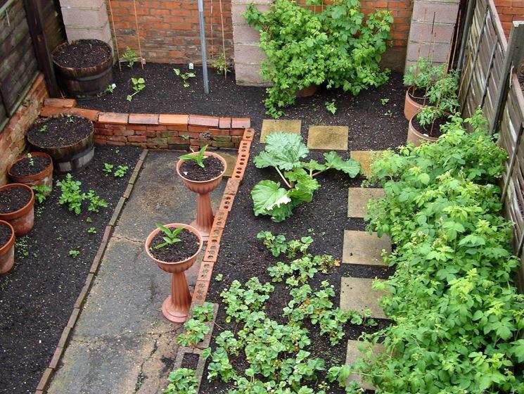 Piccoli giardini parchi e giardini for Idee x piccoli giardini